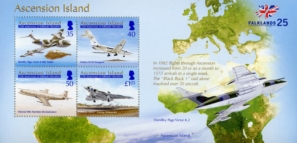 Flight Time From Ascension Island To Falklands
