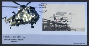 Naval Aviation Centenary S/S FDC