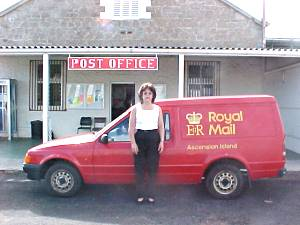 Ascension Island Post Office Van